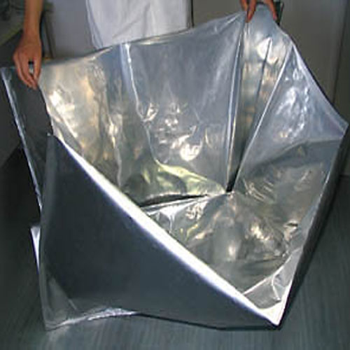 Aluminized solid bag
